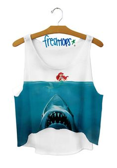 jaws x mermaid - Fresh-tops.com I THINK I LOVE THIS TOO MUCH