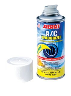 ABRO AC-050 effectively removes Interior and A/C odors. Easily cleans A/C units and leaves a Long Lasting, Fresh Lemon Scent. Efficiently Removes Interior and AC Odors ... ...For any query and assistant Mail us at: info@aiplabro.com , customercare@aiplabro.com