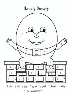 printable humpty dumpty coloring pages - cat color page animal coloring pages color plate