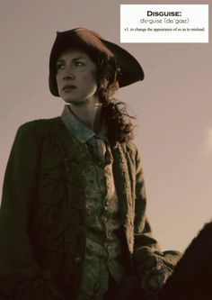 Outlander definitions.- Disguise. (x)