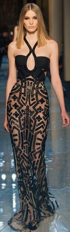 Atelier Versace Fashion Show details Repined by Colleen25g