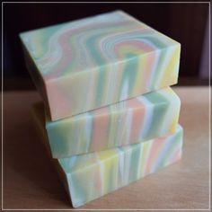 handmade soap - spin swirl