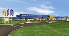 IKEA to Install Indiana's Largest Retail Solar Rooftop on Future Store Opening Fall 2017 in Fishers, IN @solar_energy4u #solar