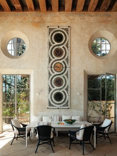 amazing #dining room // Richard Shapiro in C. Magazine.