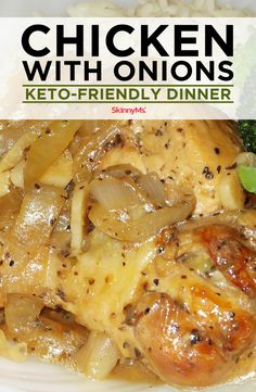 This Keto-friendly Chicken with Onions dinner recipe lets you create a hearty one-pot meal that's healthy, budget-friendly and crowd-pleasing. Clean Eating Meal Plan, Clean Eating Dinner, Clean Eating Recipes, Healthy Eating, Eating Schedule, Healthy Family Meals, Healthy Dinner Recipes, Appetizer Recipes, Healthy Tips