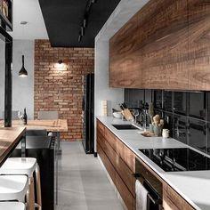 Image result for дизайн кухни-гостинной в стиле эко