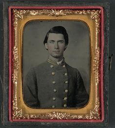 [Captain Jesse Sharpe Barnes, F Company, 4th North Carolina Infantry in frock coat]