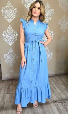 Frock Fashion, Couture Fashion, Fashion Dresses, Simple Dresses, Casual Dresses, Stylish Kurtis Design, Frock For Women, Girls Fashion Clothes, Western Dresses