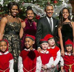 Merry Christmas The Obamas