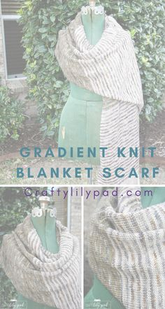 Looking for a perfect knit blanket scarf pattern