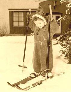Skiing babies. Someday.