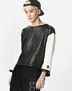 Chun Ji - Vogue Girl Magazine October Issue '13