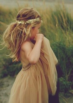 This is totally what my flower girl is going to look like.
