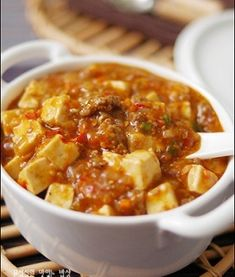 Korean Side Dishes, Baking Items, Asian Recipes, Chili, Cooking Recipes, Soup, Chile, Asian Food Recipes, Chilis
