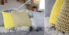 gebreid kussen, kussen breien http://vintage-knitting-breien.blogspot.nl/2013/11/gebreide-kussens-makkelijk-te-maken-met.html
