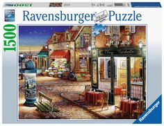 Full Size 26 x 19 Inch The Jigsaw Puzzle Factory House on The Cliff Puzzle Game for Adults 550 Piece 100/% Biodegradable