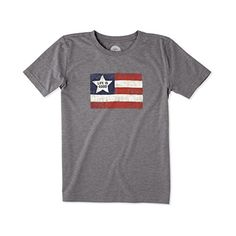 Life is good Boys LIG Flag Cool Tee Slate Gray XXLarge >>> You can get more details by clicking on the image.(This is an Amazon affiliate link)