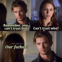 Pretty Little Liars - Spencer and Jason