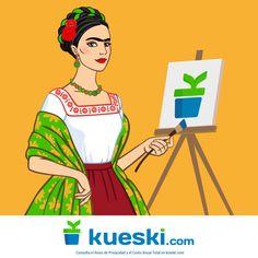 Un día como hoy nació una de las artistas más representativas de México. ¿Cuál es tu obra favorita de #FridaKahlo?