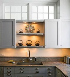 Undercabinet Lighting Cooking dinner can be difficult when your countertops or stove are in the shadows. These tips can help you add beautiful and practical task lighting into the kitchen, office, and other hardworking rooms.
