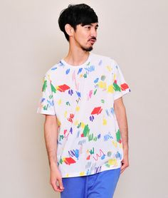 Multi Pattern Short Sleeve D(Color Pencil)