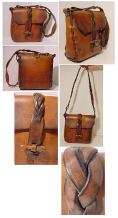 nice vintage leather bag