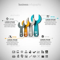 #Business Infographic - #Infographics Download here: https://graphicriver.net/item/business-infographic/11864392?ref=alena994