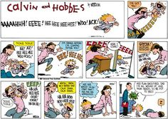 First time I´ve seen Calvin´s mom playing with him...