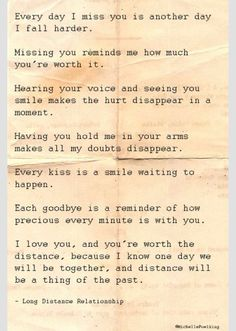 Soulmate and Love Quotes : QUOTATION – Image : Quotes Of the day – Description Soulmate Quotes : QUOTATION – Image : As the quote says – Description Long distance relationship Sharing is Power – Don't forget to share this quote ! Miss You Quotes For Him, Be Yourself Quotes, Missing You Quotes For Him Distance, Long Distance Quotes, Long Distance Relationship Quotes, Distance Relationships, Long Distance Love Letters, Relationship Texts, Relationship Pictures