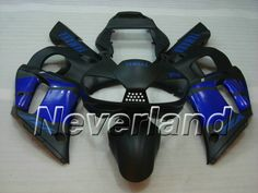 YAMAHA YZF-R6 1998-2002 ABS Fairing - Black/Blue #2002R6fairings #2001yamahaR6fairings