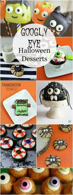 Easy Green Halloween Candy Bark Recipe made with real looking worms - halloween dessert ideas