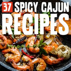 37 Spicy and Authentic Cajun Recipes These Cajun dishes are spicy, full of flavor and so comforting. I love Cajun food! Try at least 3 of these and you will be hooked. Creole Recipes, Cajun Recipes, Paleo Recipes, Soup Recipes, Gumbo Recipes, Dinner Recipes, Pescatarian Recipes, Potato Recipes, Casserole Recipes