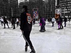 ❄️Some photos from yesterday's ice skating at Bryant park. ❄️ #newyork_instagram #iphonephotography #iphonography #iceskating #bryantpark #newyork #instagram