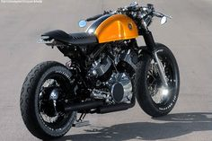 Yamaha Virago cafe racer by Greg Hageman of Doc's Chops