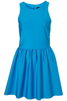 love this material on this dress from topshop, but when i tried it on in london the cut was weird.