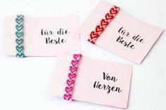 Freundschaftsbänder mit Herzen knüpfen: Tolles Geschenk für den Valentinstag!