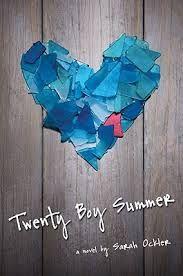 R is for romance. Twenty Boy Summer by Sarah Ockler. #atozchallenge teen issues in YA books