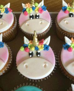 U Unicorn Cupcakes, Fondant, Desserts, Food, Meet, Tailgate Desserts, Deserts, Essen, Postres