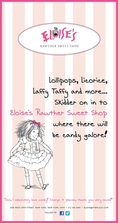 Eloise's Rawther Sweet Shop opened today!