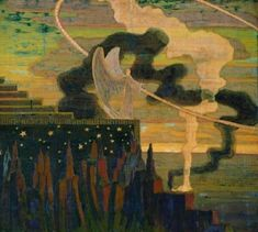 Page: The Offering Artist: Mikalojus Ciurlionis Completion Date: 1909