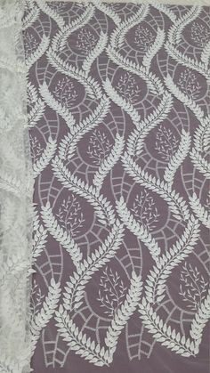Ivory lace fabric 3D lace French Lace Embroidered by LaceToLove 62$/yard