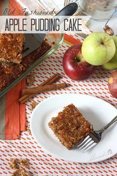 Apple Pudding Cake   MyBlessedLife.net
