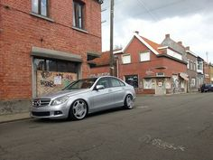 Mercedes-Benz C-Class W204 on Carlsson Wheels | BENZTUNING | Performance and Style