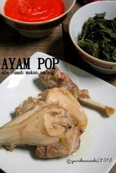 Trial resep ini karena tiap makan di rumah makan padang pasti kami makan dengan lauk Ayam Pop. Untuk yang belum tau tentang ayam pop saya a...