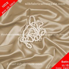 Camel silk charmeuse fabric for women silk wedding dresses. Silk Satin Fabric online in high quality