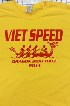 2014 Dragon Boat Race #ScreenPrinted shirts. Need custom Screen Printing or #Embroidery contact us at www.printex-usa.com or give us a call at 800-642-4949 to discuss your needs.