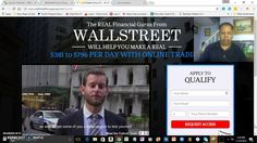 Wall Street Focus Group $381 To $796 Daily Scam