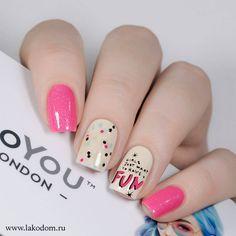 diseños de uñas juveniles