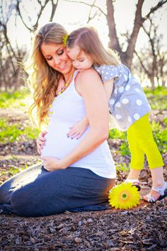 Mommy and Me Maternity Shoot