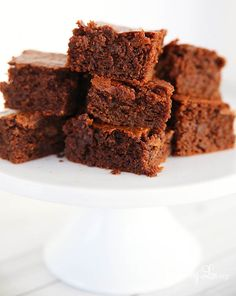 Grain free paleo brownie recipe that is moist fluffy and cake like. These paleo brownies are nourishing with a nutty almond flavor and are not overly sweet.